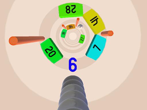 蛇與球--Snake vs Balls-令人上癮的有趣遊戲 您可以使用鼠標或箭頭鍵控制您的球數。 您需要避開許多障礙。 如果您無法避免它們,請嘗試打較小的數字。 所以你的球柱可以生存。 您可以收集圈數,使您的球柱鏈更大。 有3種不同類型的球。 挑戰以及許多不同的背景。 您將在此遊戲中享受數小時的樂趣。