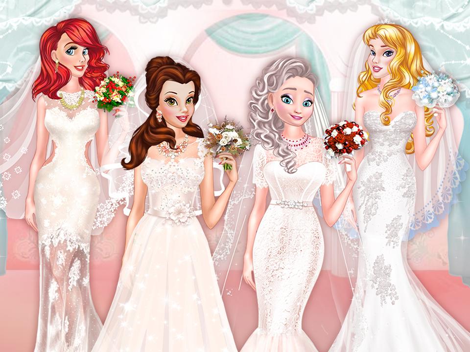 Princesses Bridal Salon online hra