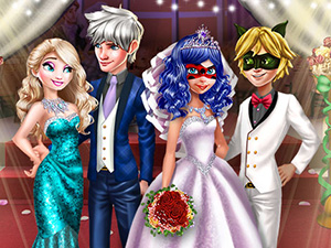 Ladybug Wedding Royal Guests online hra
