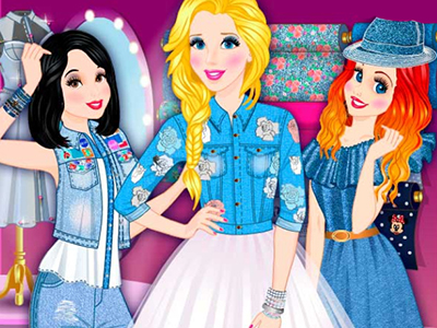 Princess Denim Collection online hra