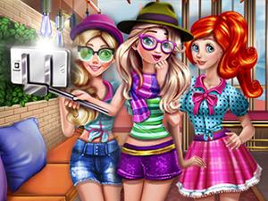 لعبة سيلفي الأميرات الثلاثة