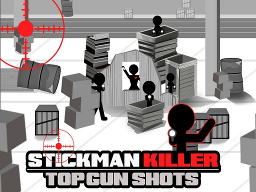 Stickman Killer Top Gun Shots