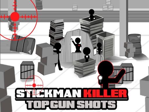 Stickman Killer Top Gun Shots online hra