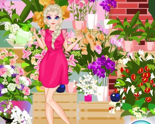 ICE QUEEN FLOWERS FESTIVAL online hra