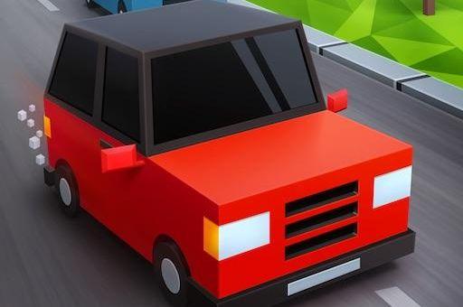Course de taxi pixel