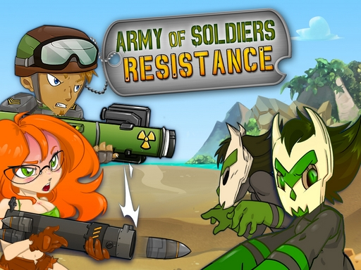 Army of Soldiers Resistance online hra