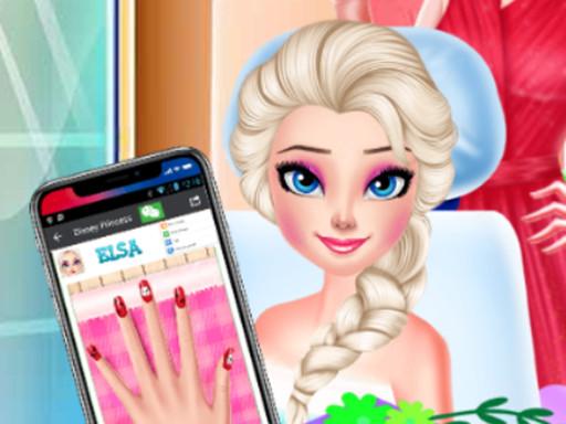 Princess Nail Salon Makeover