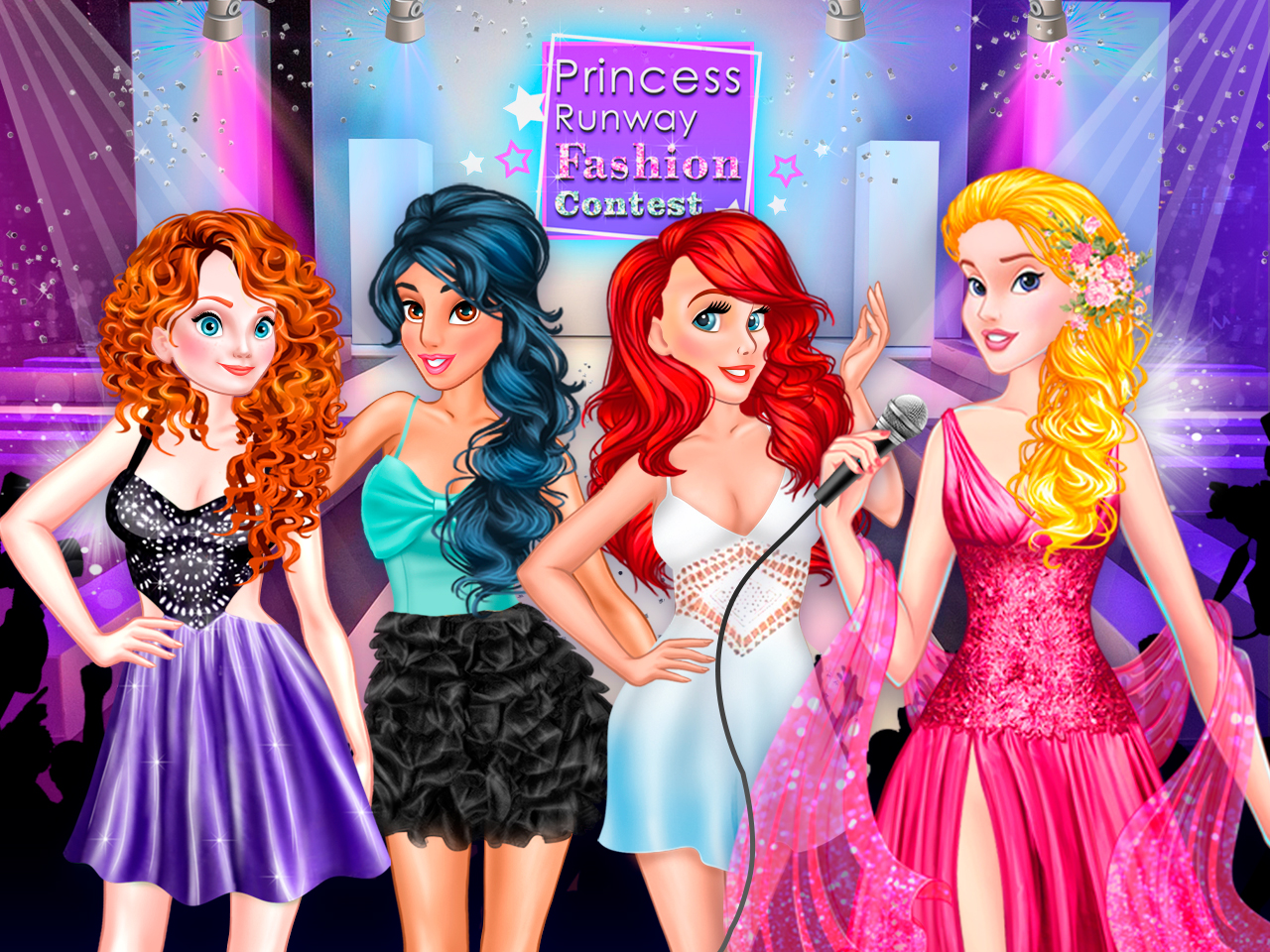 Princess Runway Fashion Contest online hra