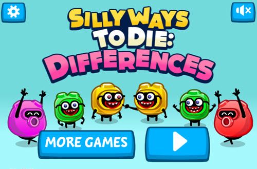Silly Ways to Die: Differences online hra