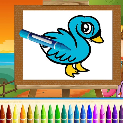 Cute Animals Coloring