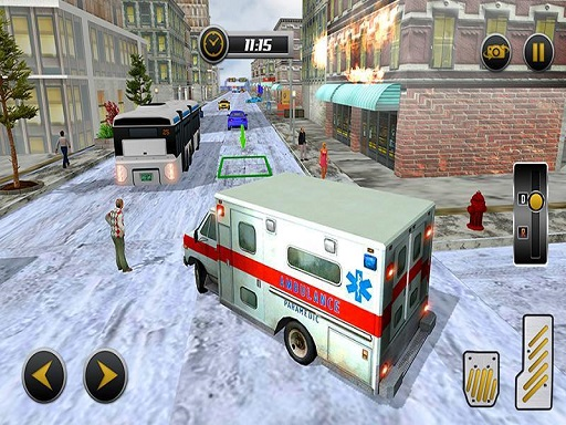Modern City Ambulance ...