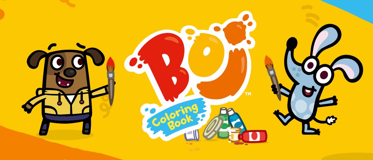 Boj Coloring Book