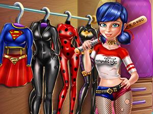 Ladybug Secret Wardrobe