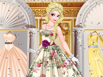 30 and 1 Ball Gown for Elsa