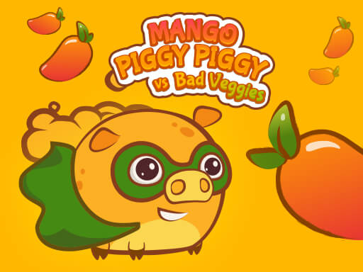Mango Piggy Piggy vs Bad Veggies online hra