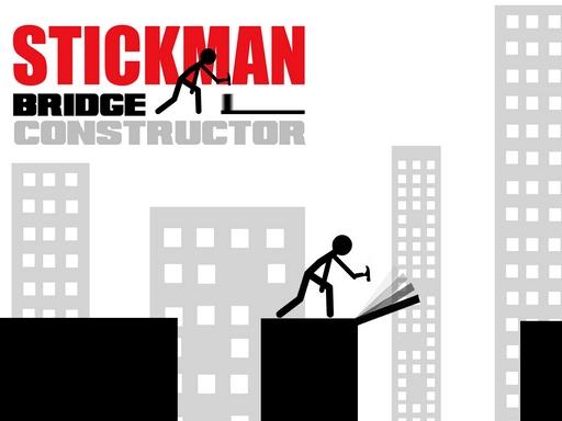 Stickman Bridge Constructor online hra