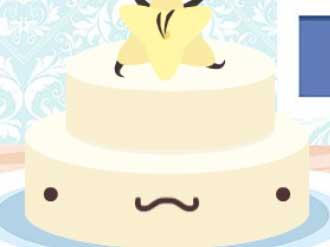 لعبة تزيين كعكة الزفاف الممتعة