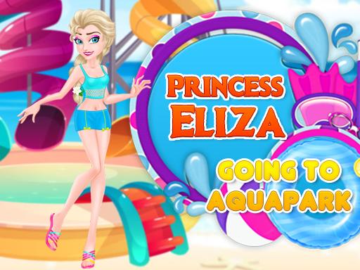 Princess Eliza Going To Aquapark online hra