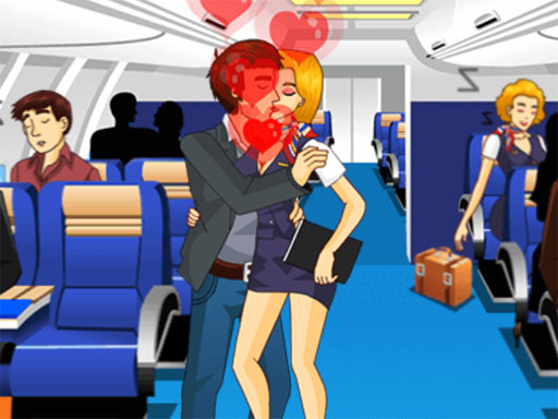 Air Hostess Kissing