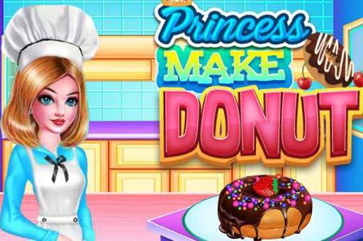 Princesse faire donut