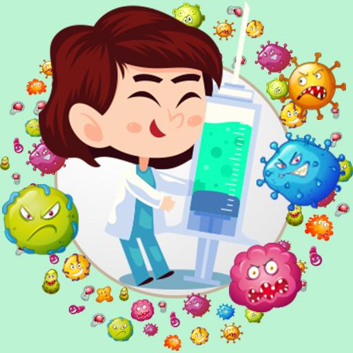 Virus Bubble Shooter