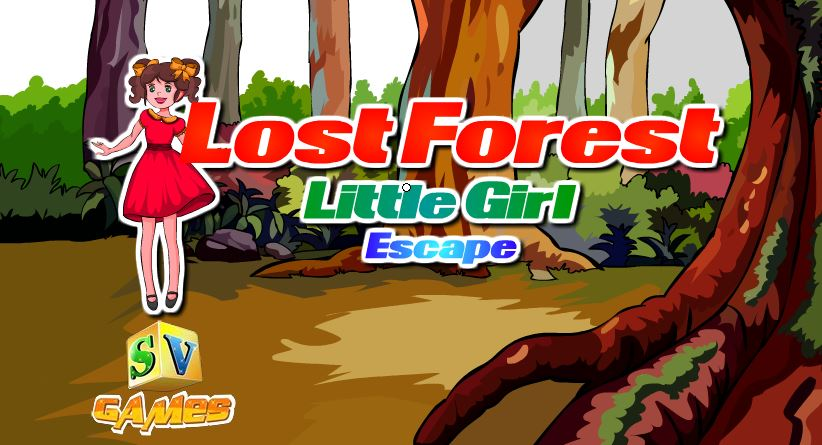 Sivi Games Lost Forest Little Girl Escape