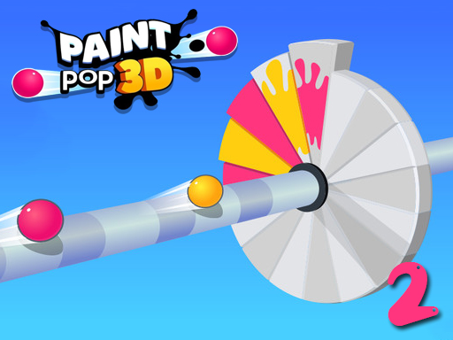 Paint Pop 3D 2 online hra
