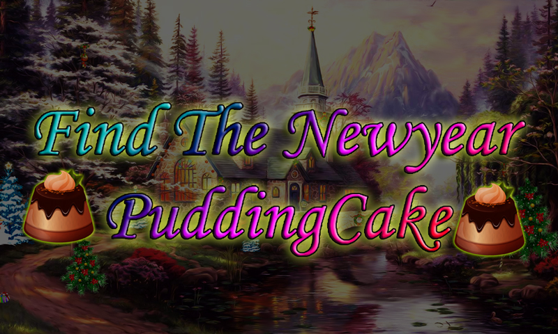 Find The New Year Pudding Cake
