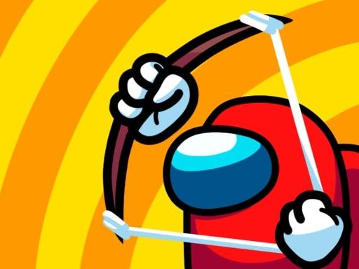 冒名頂替者弓箭手戰爭--Impostor Archer War-玩這個新遊戲,你可以控制我們中間的小人物,讓他射箭並消滅我們中間的不同滲透者! 立即玩,享受 kiz10.com 推出的這款新遊戲的樂趣,與我們中的弓箭手一起享受與眾不同的冒險。 扮演我們中間的角色並懲罰叛徒。您必須消滅所有敵人,使用您的技能,並升級您的技能!敏捷躲避箭矢,精準瞄準敵人,因為這是結束這場戰爭的唯一途徑。