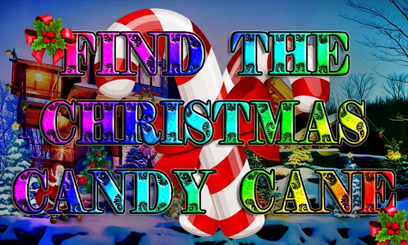 Find The Christmas Candy Cane