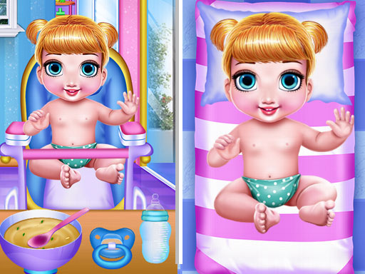 Princess New Born Twins Baby Care