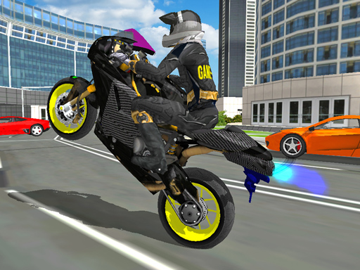 Motorbike Stunt Super Hero ...