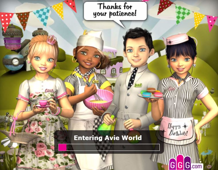 Avie Pocket Birthday H5 online hra