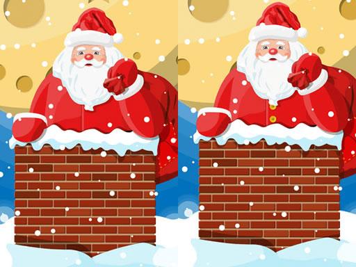 Santa Claus Differences online hra