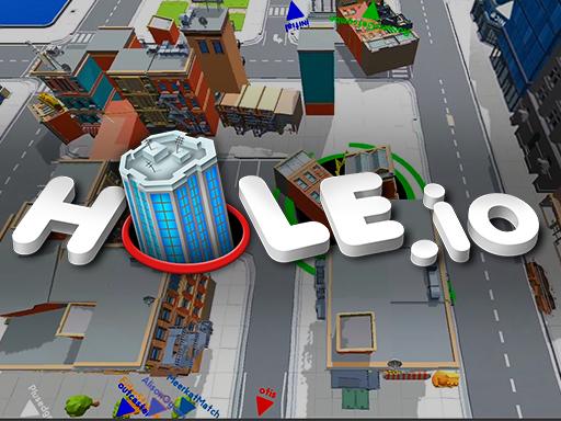 黑洞大作戰-黑洞大作战-Hole.io-《黑洞大作戰 (Hole.io)》是一款街機物理益智遊戲,由法國工作室Voodoo創建。遊戲的題材相當有意思,每個玩家都是黑洞。玩家控制在市區中移動的黑洞。通過消耗各種物體,孔的尺寸將增大,從而允許玩家消耗較大的物體以及較小的玩家。要注意對手大小,他們也會吃掉你喔~