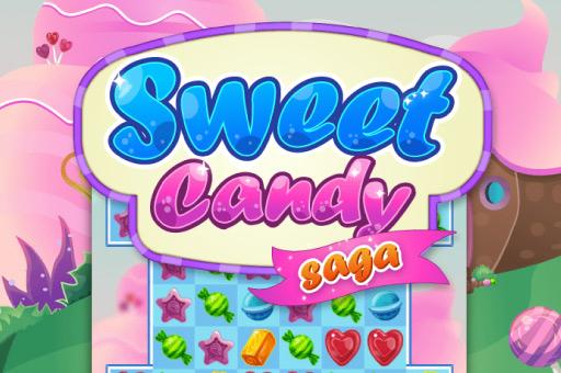 Saga de bonbons sucrés