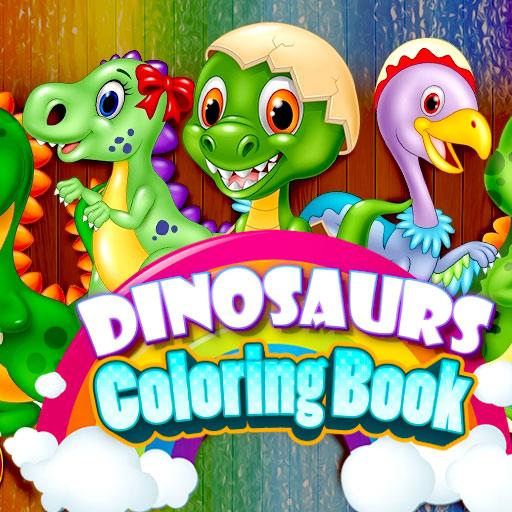 Dinozorlar Boyama Kitabı
