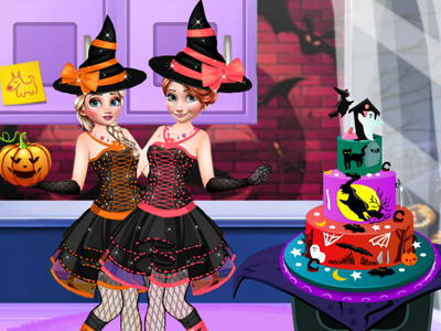 Halloween Party Cake online hra