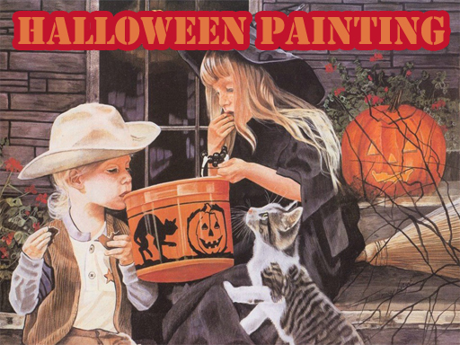 Halloween Painting Slide
