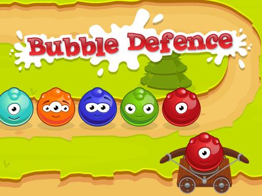 Bubble Defence online hra
