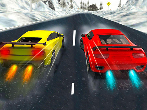 Snow Fast Hill Track Racing online hra