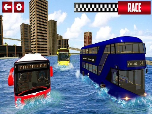 Extreme Water Surfer Bus ...