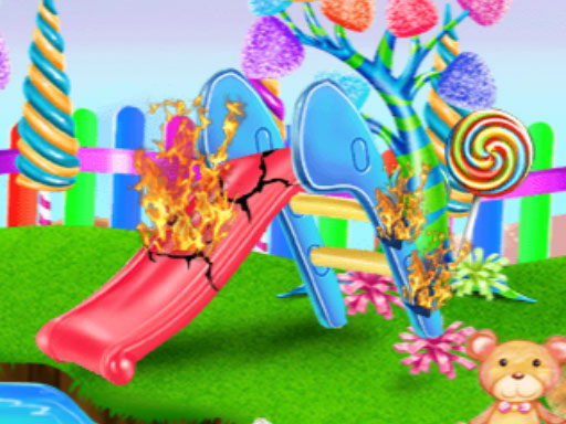 Candy Garden Cleaning online hra