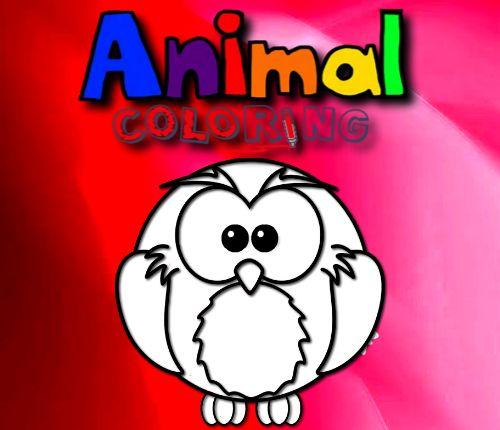 動物HTML5著色