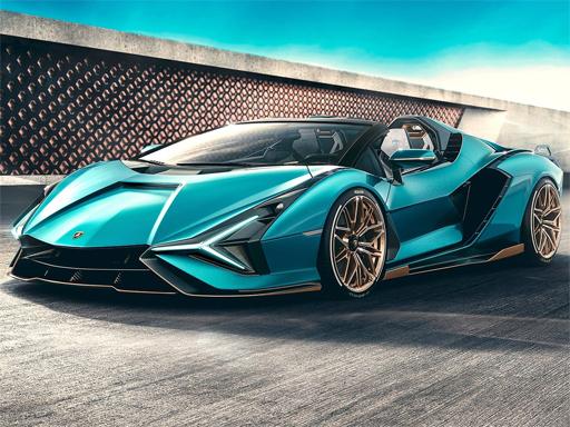 Lamborghini Sian Roadster ...