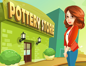 Pottery Store online hra