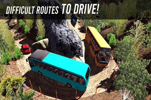 Uphill Climb Bus Driving Simulator Sim 3D