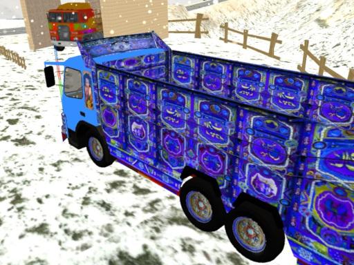 Indian Cargo Truck Driver online hra