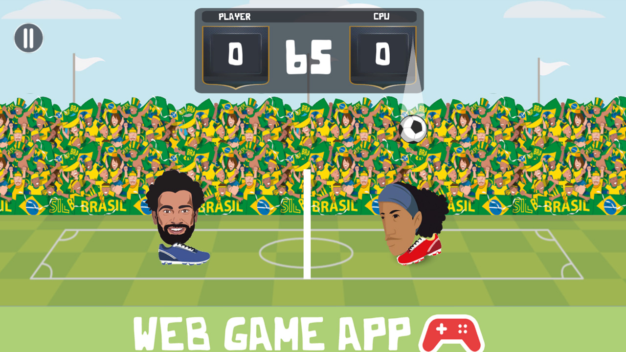 Futbol Efsaneleri Kafa Topu