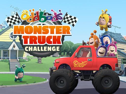 Oddbods Monster Truck online hra